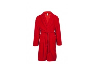 Polar fleece gown