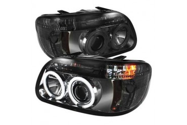 Spyder Auto Group CCFL Halo Projector Headlights 5042019 Headlight Replacement