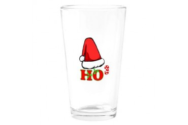 Santa to the 3rd Geek Drinking Glass by CafePress