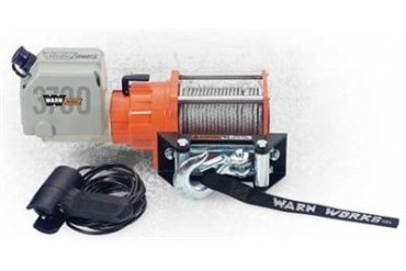Warn 3700 Utility Winch 93700 3,000 to 6,000 lbs. ATV Winches