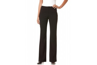 Rafaella Textured Classic Fit Slimming Pant