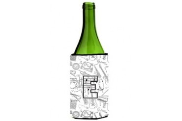 Letter E Musical Note Letters Wine Bottle Beverage Insulator Hugger