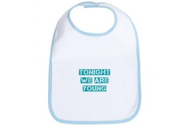 Tonight We are Young Party Bib by CafePress