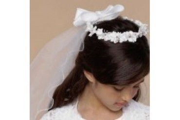 US Angels Flower Girl Headpieces - Style V-82
