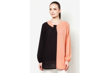Ethnic Chic Ayu Colour Block Blouse