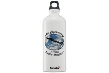 F-102 Delta Dagger Hobbies Sigg Water Bottle 1.0L by CafePress