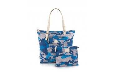 X-Bag Camouflage Vertical Foldable Tote