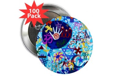 Diversity 1 Diversity 2.25 Button 100 pack by CafePress