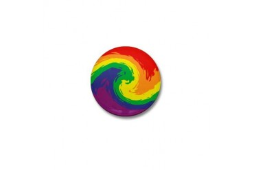 Gay Pride Gay Mini Button by CafePress