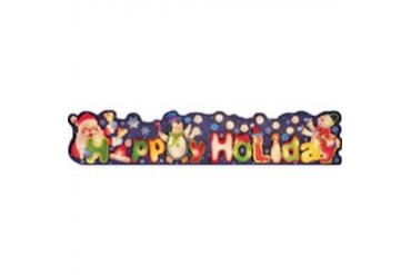 4 Pack Holiday Basix 48 x 60 Happy Holidays Sign