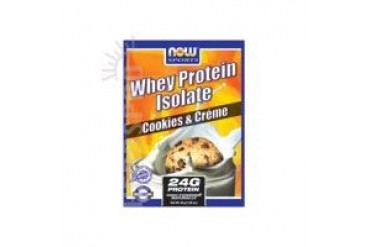 Whey Protein Isolate Cookies and Cream 14 pks