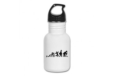 Croquet Sports Kid's Water Bottle by CafePress