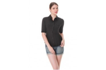 FREEGO WOVEN RAYON BLOUSE