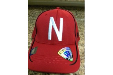 Nebraska Cornhuskers NCAA TOW Finisher Stretch Fitted Hat New With Tags