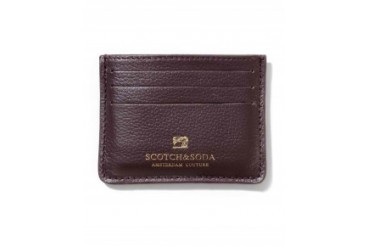 Scotch & Soda Leather Wallet Brown