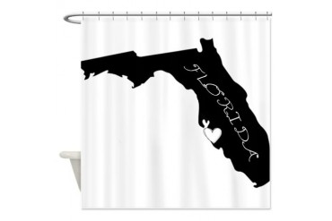 Sarasota Florida Love Shower Curtain by CafePress