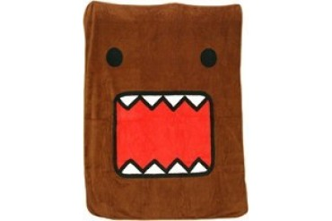Domo Kun Big Face Fleece Throw Blanket