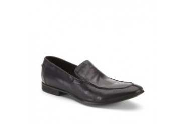Split the Bill Leather Topstitch Loafer