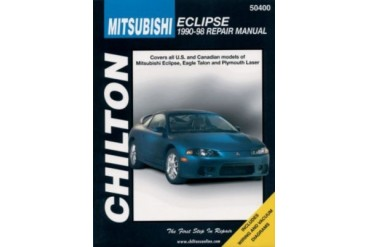 1990-1998 Mitsubishi Eclipse Manual Chilton Mitsubishi Manual 50400 90 91 92 93 94 95 96 97 98