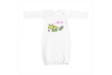 Doris Cute Baby Gown by CafePress