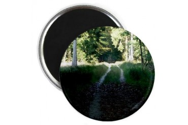 Woods 18 Trees Magnet by CafePress