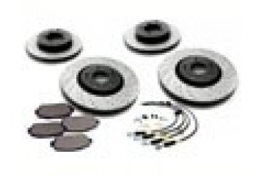 StopTech Sport Brake Slotted Drilled Kit Acura TSX 09-10