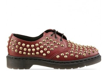 Dr. Martens Harlen Mens in Cherry Red Rouge size 12.0