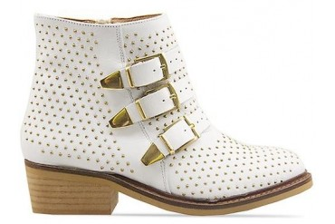 To Be Announced Who in Cream Leather Gold size 7.0