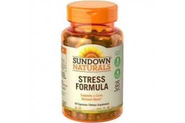 Sundown Naturals L-Theanine Stress Formula with Calming Blend
