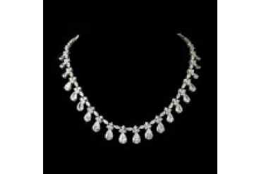Elegance By Carbonneau Necklaces - Style N2404-Silver