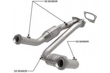 2004-2006 Ford Ranger Catalytic Converter Magnaflow Ford Catalytic Converter 24470 04 05 06