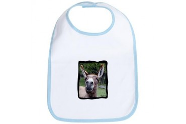 Donkey Bib by CafePress