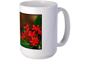 Busy Bee Nature Large Mug by CafePress