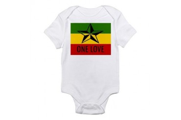 One Love Rasta Infant Bodysuit