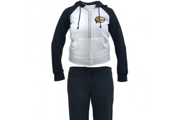 Ohio Columbus LDS Mission Clothing T-Shirts and Gi Gifts Women's Tracksuit by CafePress