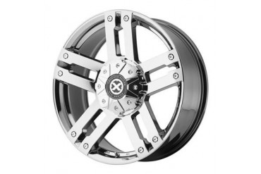 ATX Wheels AX190, 17x8.5 with 6 on 135 and 6 on 5.5 Bolt Pattern - Chrome AX19078566830 ATX Wheels