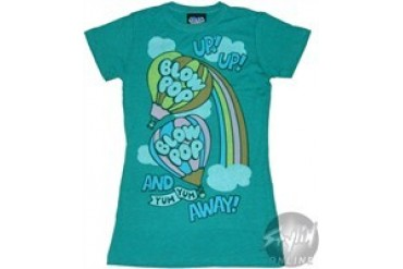 Tootsie Roll Blow Pop Baby Doll Tee by JUNK FOOD