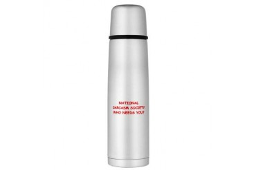 SARCASM Large Thermos Bottle Funny Large Thermosreg; Bottle by CafePress
