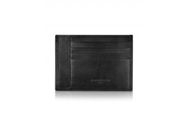 Classica Collection - Black Calfskin Card Holder