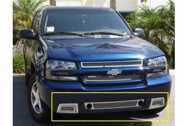 T-Rex Grilles Upper Class; Mesh Bumper Grille Bolt-On Insert 55284 Bumper Valance Grille Inserts