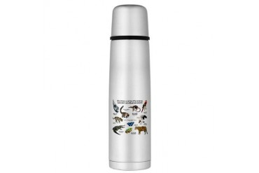 Central American Rainforest Large Thermos Bottle Art Large Thermosreg; Bottle by CafePress