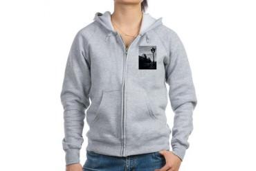 Paris Art Women's Zip Hoodie by CafePress