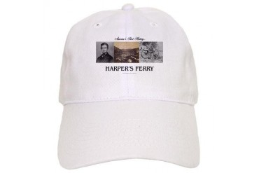 ABH Harper's Ferry Black Cap by CafePress