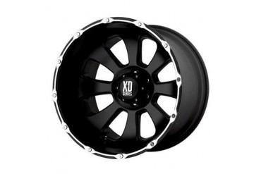 XD Wheels XD799 Armour, 20x9 with 5 on 150 Bolt Pattern - Matte Black Machined XD79929058712N XD Series Wheels