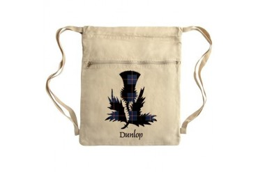 Thistle - Dunlop Sack Pack Scottish Cinch Sack by CafePress