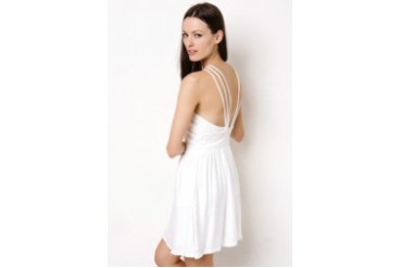 BCBGENERATION CRISS CROSS DRESS