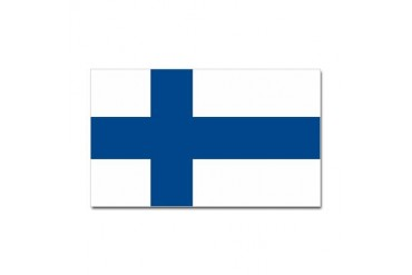 Finland Flag Rectangle Sticker