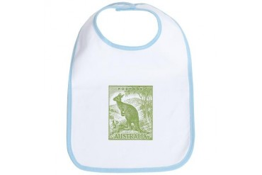 Australia Bib by CafePress