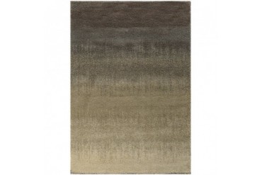 Sphinx Covington Contemporary Gray Striped Stripes Gradient Rows Area Rug