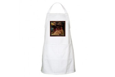 Cowboy Cat, 1, color Cat Apron by CafePress